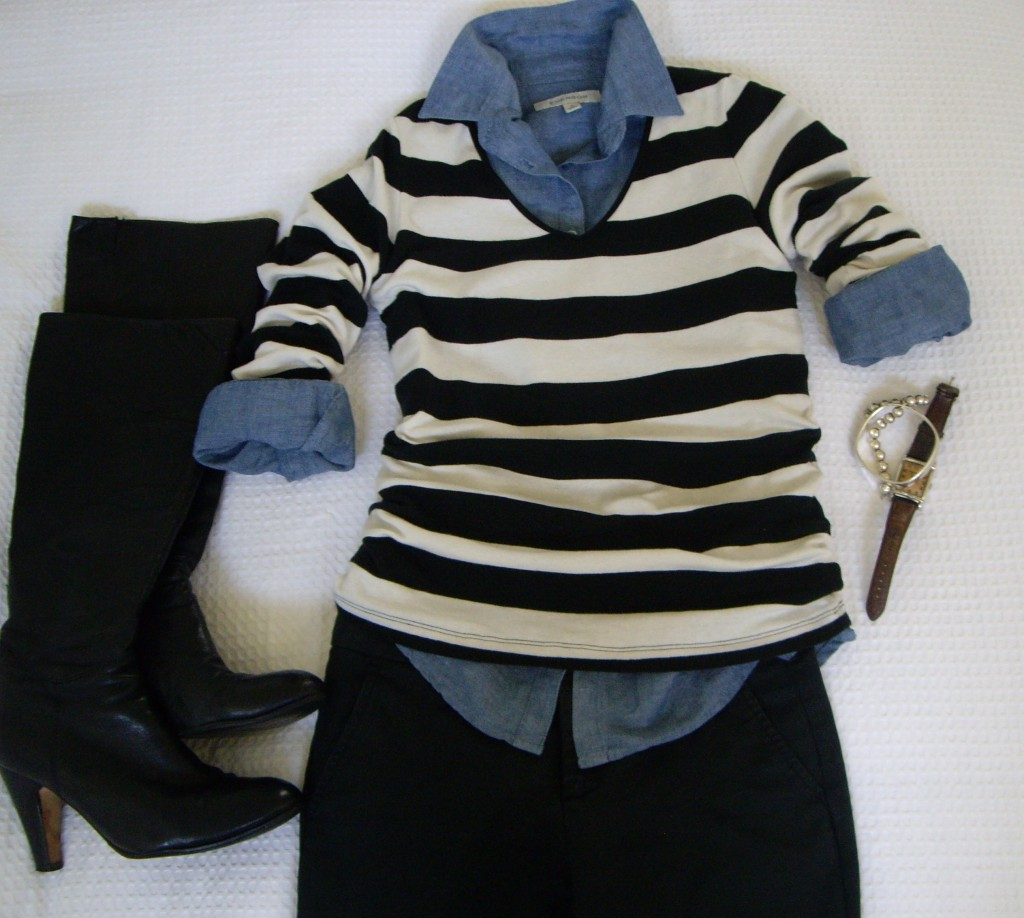 003 1024x918 Day Two   Styling My Striped Top Five Different Ways