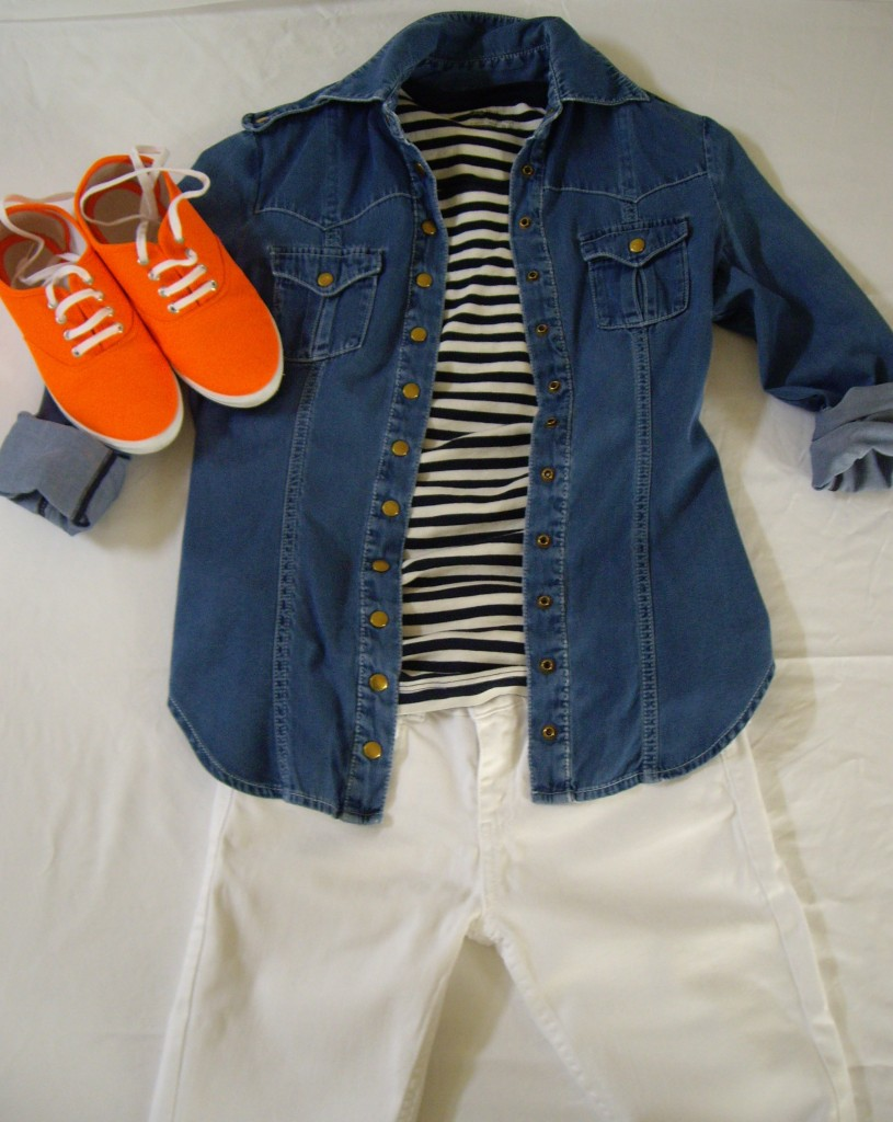 009 815x1024 How To Wear Bright Orange Sneakers