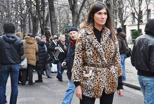 EA leopard coat Do Your Own Thing
