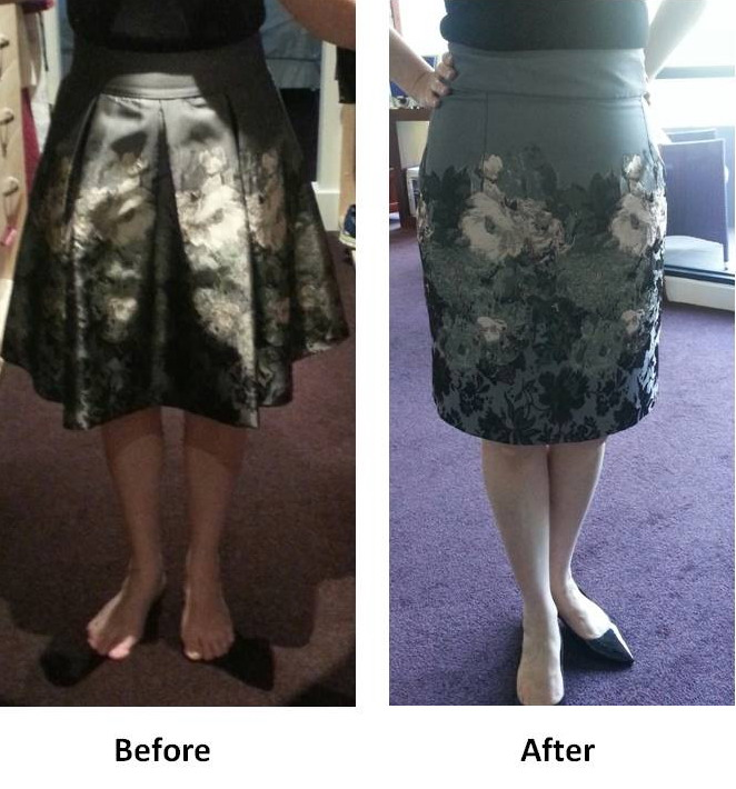 Reinvented skirt
