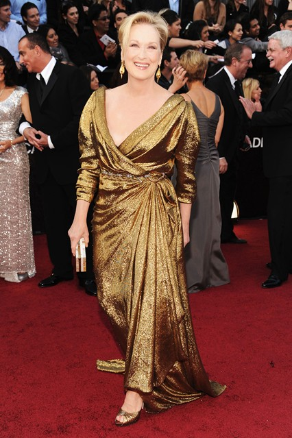 MStreep V 27feb12 getty b 426x639 The Personal Style of Meryl Streep