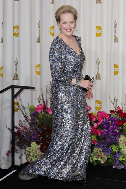 Meryl Streep Oscars Feb13 22Jan14 Rex b 426x639 The Personal Style of Meryl Streep