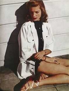 0ea9606a757b0188014df95492ca1f97 Lauren Bacall Style Icon