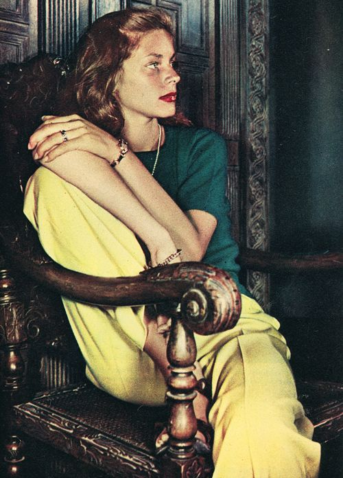 edf4ca3c02e5a4beca903d9b965f54cb Lauren Bacall Style Icon
