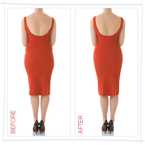 pSPXNA MS901 NUDE beforeandafter e500 Youve Bought The Dress But Have You Thought About The Underwear
