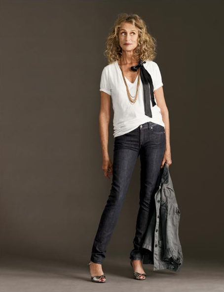 laurenhutton1 Jeans And A Tee