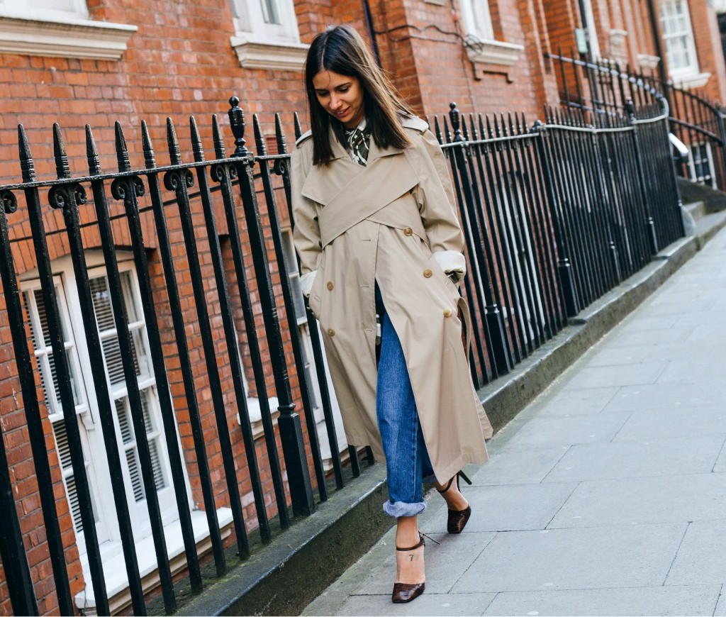 22 fall 2015 ready to wear street style 051 1024x870 The Light Trench