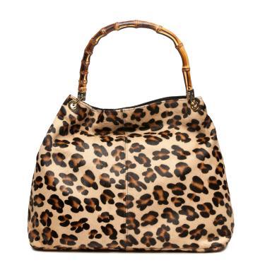 Florsheim leopard bag