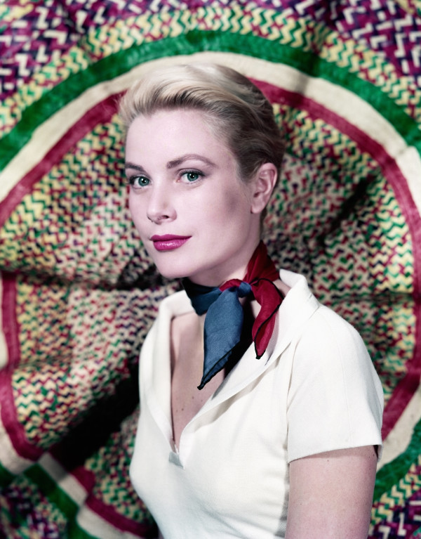 Grace Kelly neck scarf