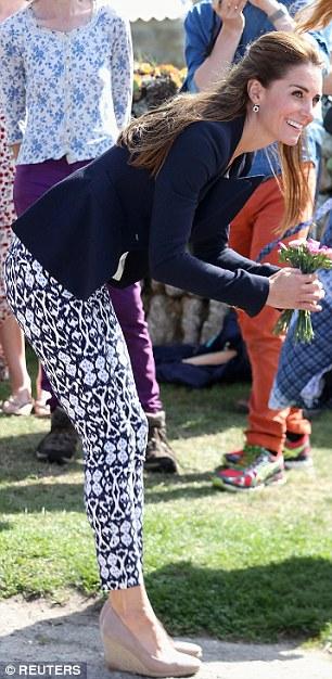 Kate Middleton Gap Pants